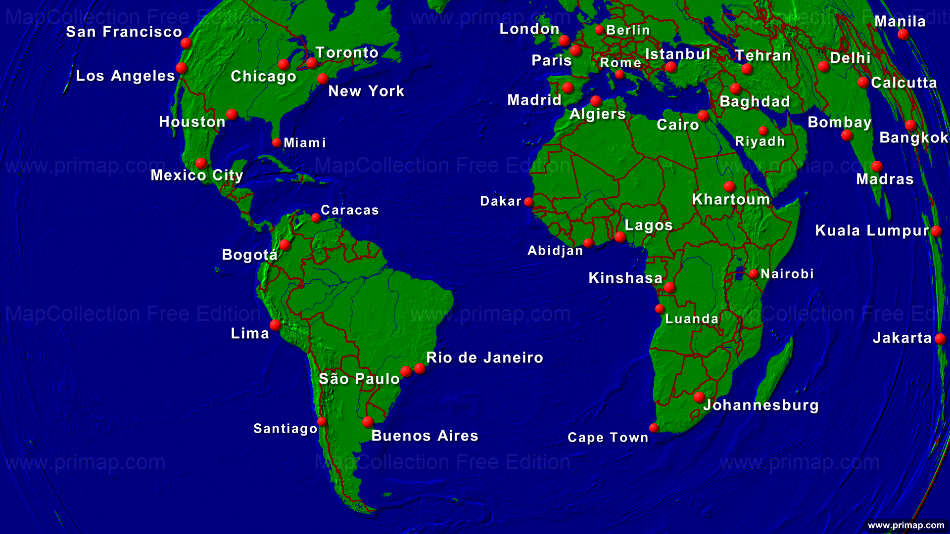 Primap marine charts atlantic ocean towns borders 1920x1080 show map gumiabroncs Image collections