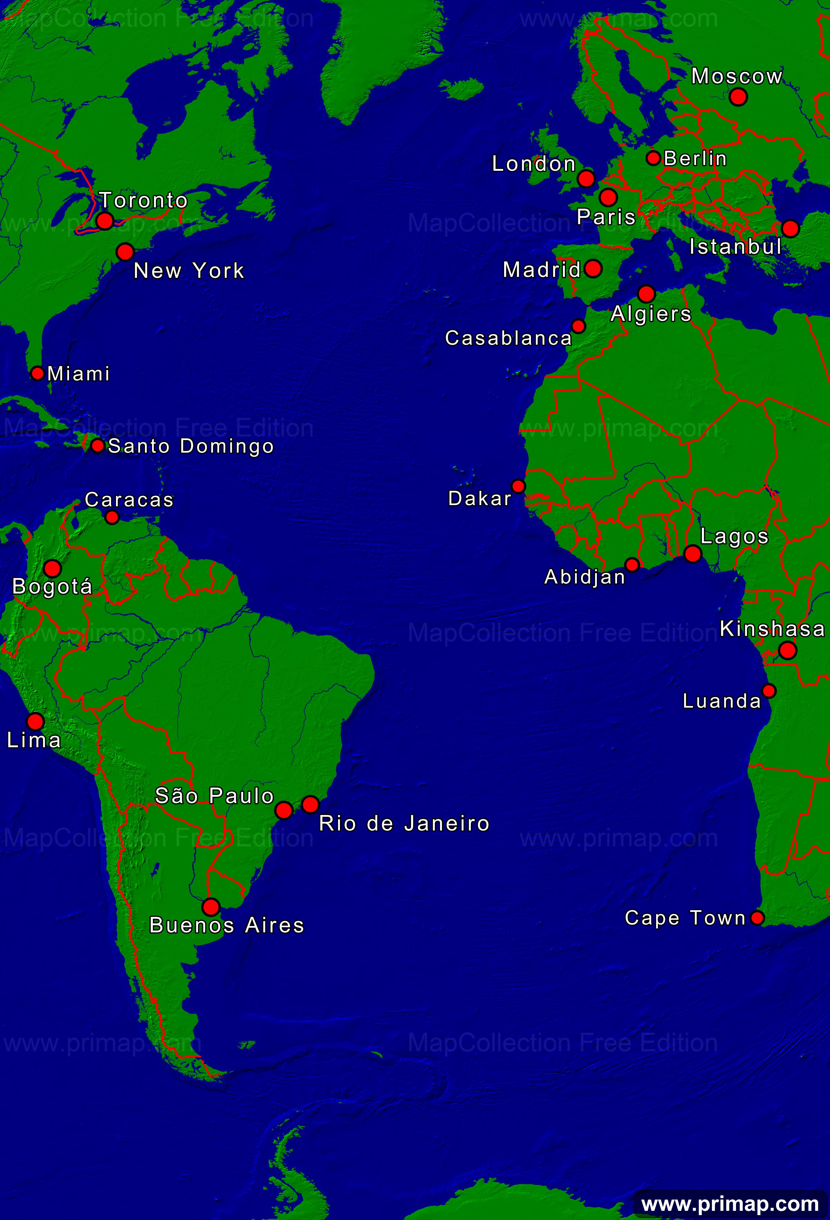 primap Marine charts