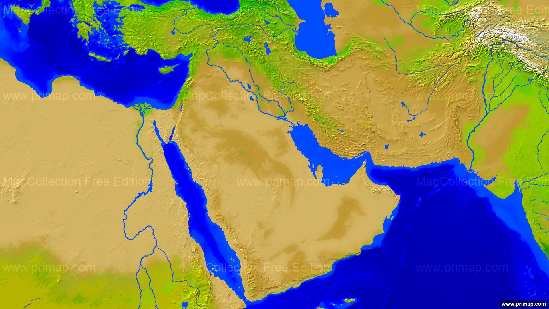 primap National maps