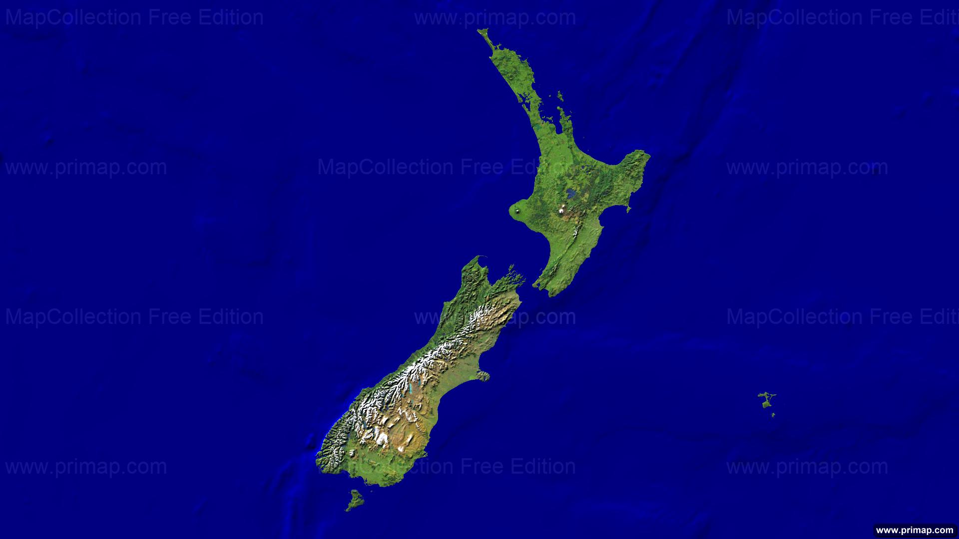 Primap National Maps - Hd satellite map