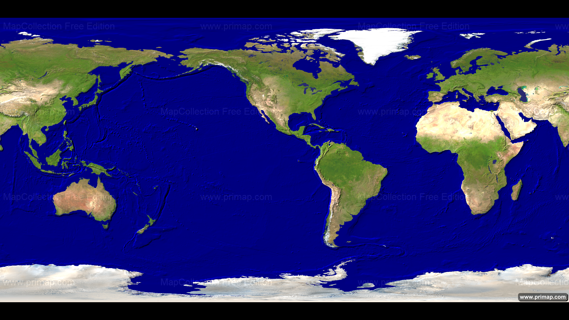 Map Of The World Satellite.Primap World Maps