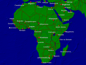 Africa Towns + Borders 1600x1200