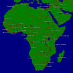 Africa Towns + Borders 4000x3991