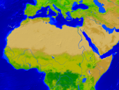 Africa-North Vegetation 1600x1200
