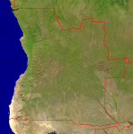 Angola Satellite + Borders 1187x1200