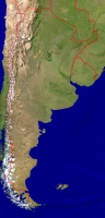 Argentinia Satellite + Borders 1540x3200