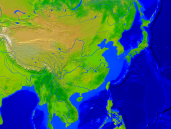 Asia-East Vegetation 1600x1200