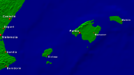 Balearic Islands Towns + Borders 800x450