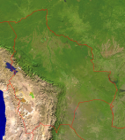 Bolivia Satellite + Borders 1075x1200