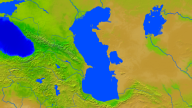 Caspian Sea Vegetation 1600x900