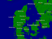 Denmark Towns + Borders 640x480
