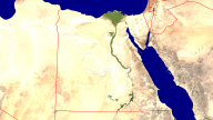 Egypt Satellite + Borders 1920x1080