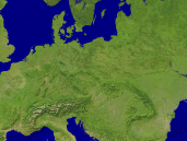 Europe-Central Satellite 1600x1200