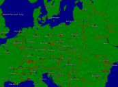 Europe-Central Towns + Borders 4000x2947