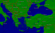 Europe-Southeast Towns + Borders 1000x599