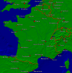 France Towns + Borders 792x800