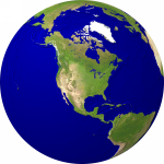 Globe (USA-centered) Satellite 2000x2000