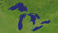Great Lakes Satellite 1920x1080