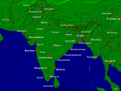 India Towns + Borders 1600x1200