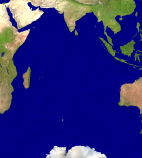 Indian Ocean Satellite 3575x4000