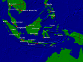 Indonesia Towns + Borders 1600x1200