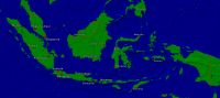 Indonesia Towns + Borders 4000x1776
