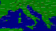 Italy Towns + Borders 1600x900