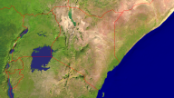 Kenia Satellite + Borders 1600x900