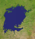 Lake Victoria Satellite 543x600