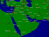 Middle East Towns + Borders 1600x1200