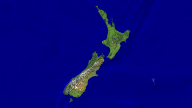 New Zealand Satellite + Borders 1920x1080