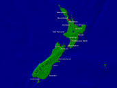 New Zealand Towns + Borders 1600x1200