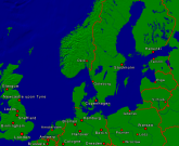 North Sea - Baltic Sea Towns + Borders 800x657