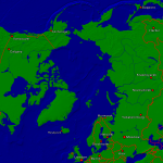 North pole Towns + Borders 1999x2000