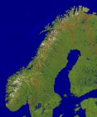 Norway Satellite + Borders 1998x2400