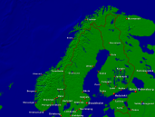 Norway Towns + Borders 1600x1200