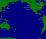 Pacific Ocean Towns + Borders 4000x3361