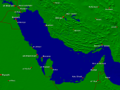 Persian Gulf Towns + Borders 1600x1200