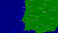 Portugal Towns + Borders 1280x720