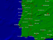 Portugal Towns + Borders 800x600