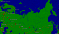 Russia Towns + Borders 4000x2368