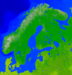 Scandinavia Vegetation 3058x3200