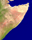Somalia Satellite + Borders 1900x2400