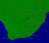 South Africa Towns + Borders 1600x1402