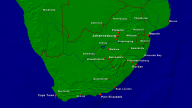 South Africa Towns + Borders 1920x1080