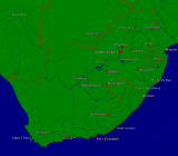 South Africa Towns + Borders 3200x2805