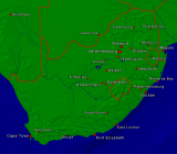 South Africa Towns + Borders 800x701