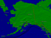 USA-Alaska Towns + Borders 1000x743