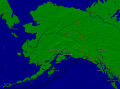USA-Alaska Towns + Borders 2000x1487