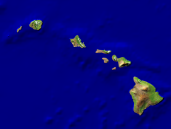 USA-Hawaii Satellite + Borders 800x600